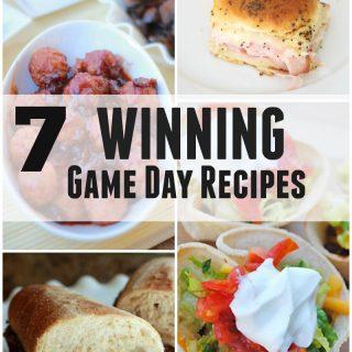 7 Winning Game Day Recipes