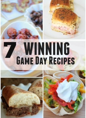 7 Winning Game Day Recipes