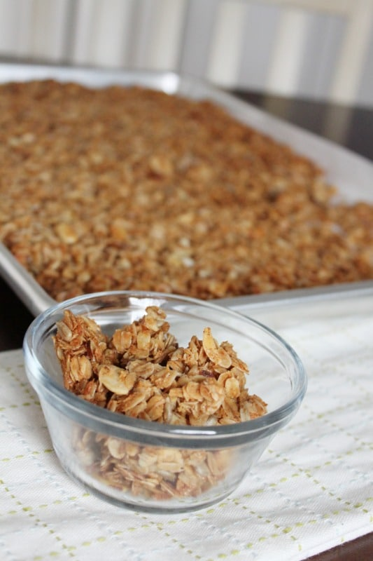 Healthy Homemade Granola - easy and versatile recipe
