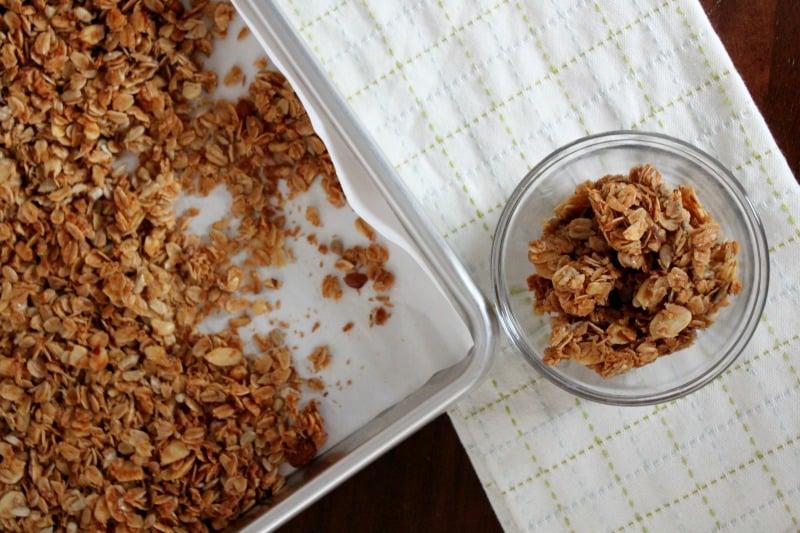 Healthy Homemade Granola - easy and versatile recipe!
