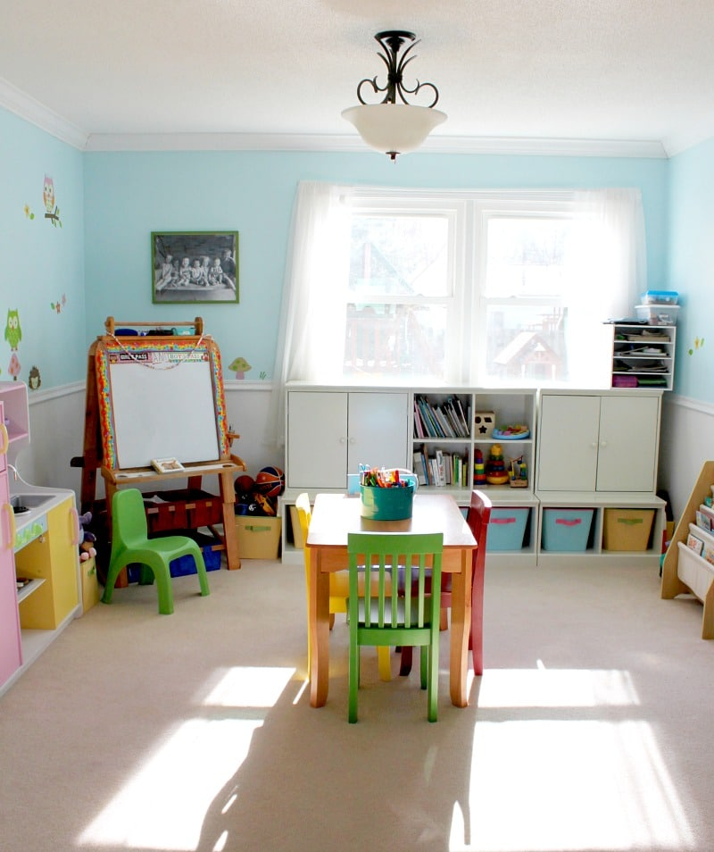 A playroom update for toddlers to big kids!