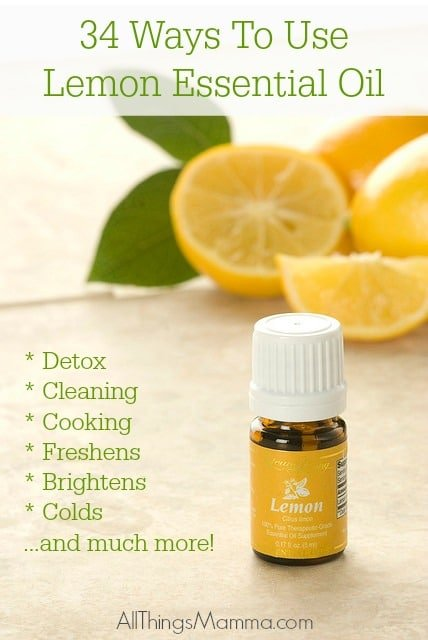 Lemon essential oil isone of the most versatile and widely used oils for its potent properties and powerful aromatics!
