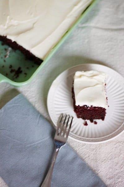 Old Fashioned Red Velvet Cake
