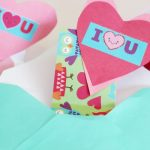 DIY Surprise Valentines Day Cards