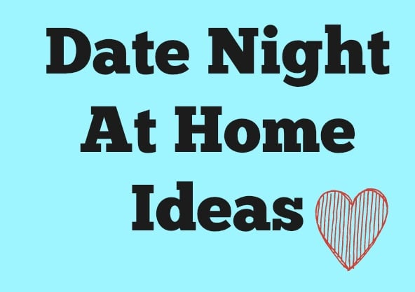 spending date night at home