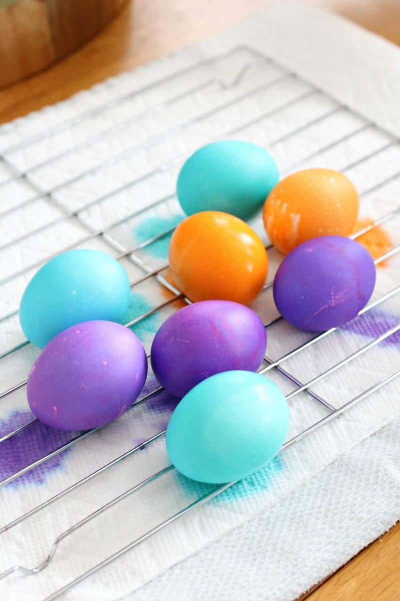 How To Dye Easter Eggs And Get Vibrant Colors All Things