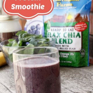 Blueberry Protein Smoothie