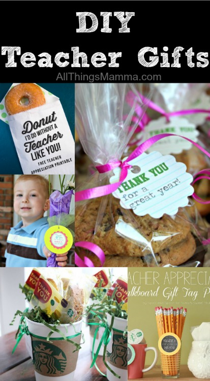 What AWESOME DIY Teacher Appreciation Gifts! I love these ideas!