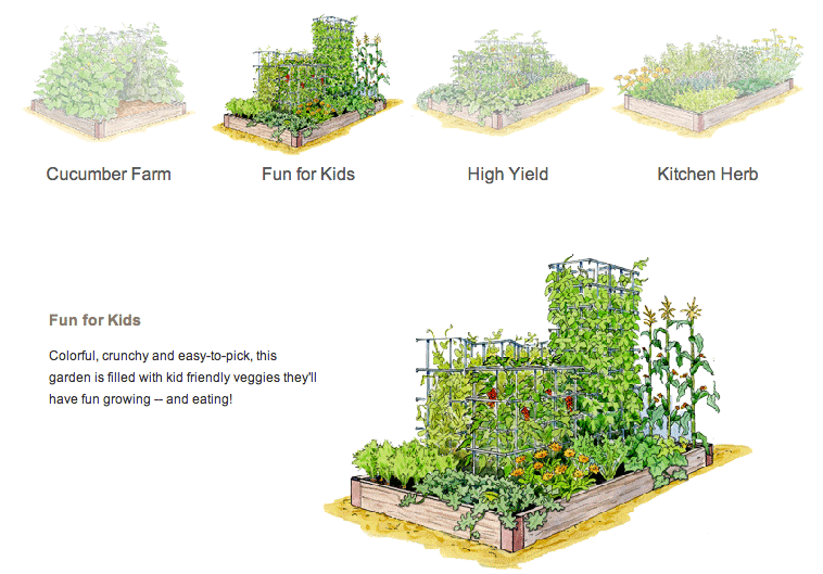 Creating Raised Garden Beds