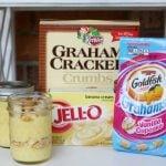 Mason Jar Pudding Snack Cups