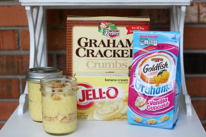After School Mason Jar Pudding Snack Cups
