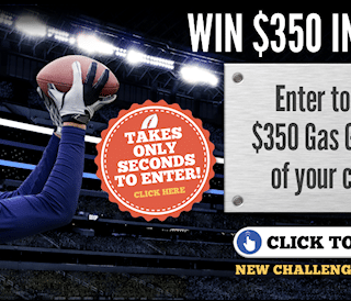 Ready for Some Football? Enter To Win $350 in FREE Gas