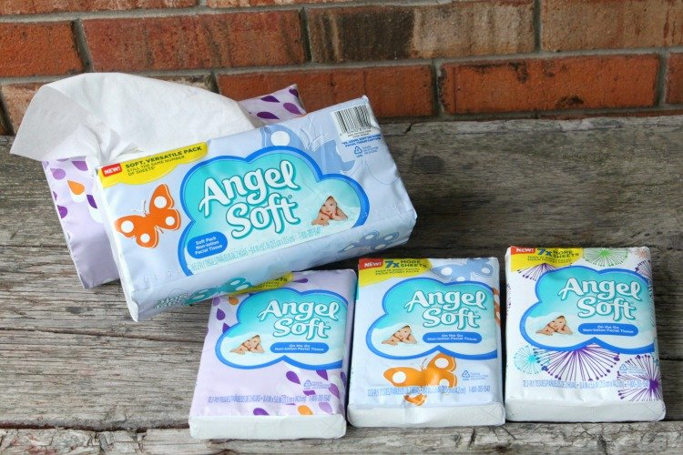 Angel Soft Facial Tissues Soft Packs