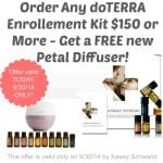 FREE doTERRA Petal Diffuser TODAY ONLY!