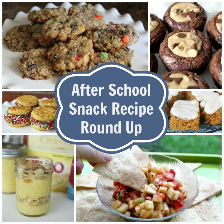 After School Snack Recipe Round Up