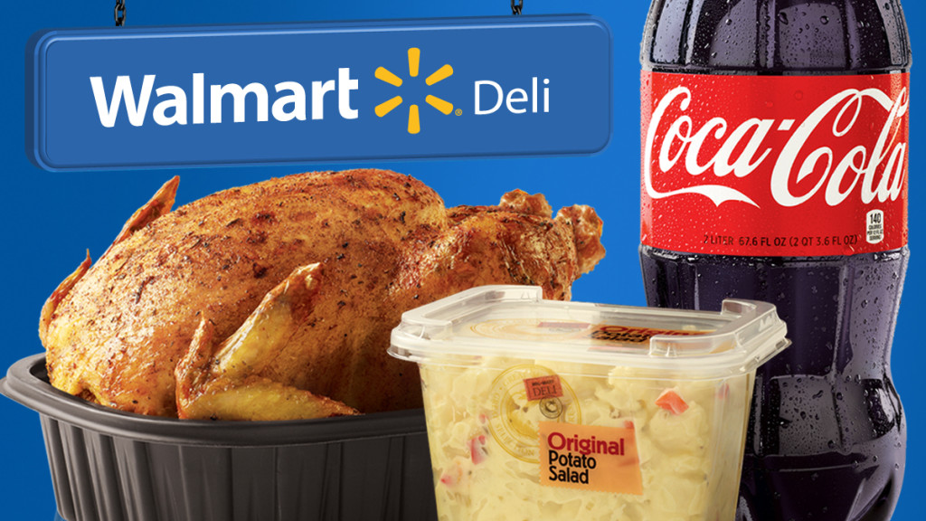 Coke and Walmart Effortless Meals