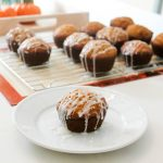 Glazed Pumpkin Muffins