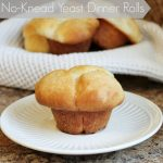 No-Knead Yeast Dinner Rolls