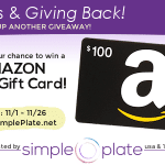 Thanks & Giving Back - $100 Amazon Gift Card Giveaway!