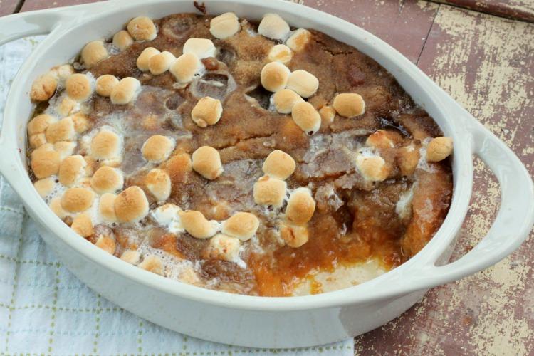 My favorite Thanksgiving side dish - Sweet Potato Casserole