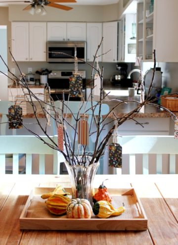 How To Create A Thankful Tree For Thanksgiving