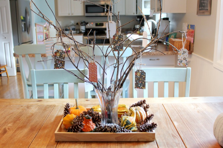 Create A Thankful Tree with your kid's that's sure to fill your heart!