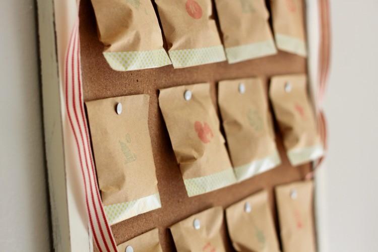 Create a Vintage Advent Calendar!
