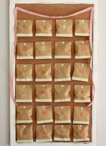 Create A Vintage Advent Calendar