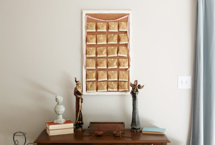 Create a Vintage Advent Calendar to celebrate this advent season!