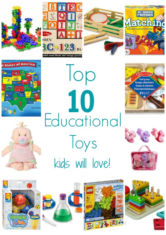 Top 10 Educational Toys Kids Will Love!!