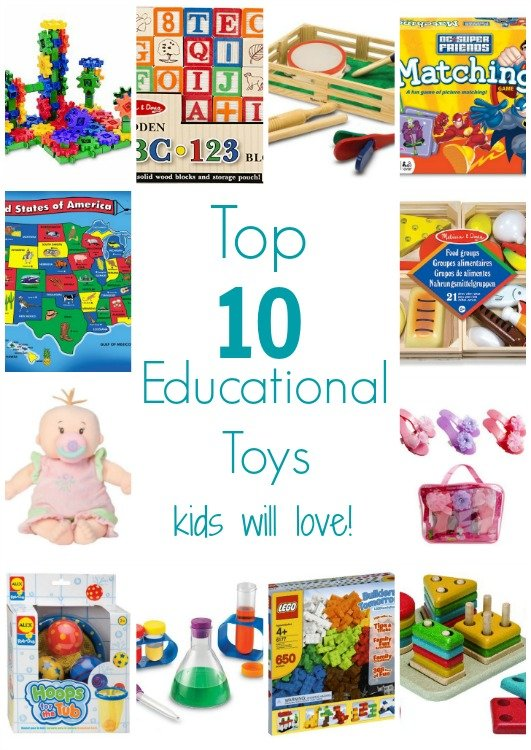 Top 10 Educational Toys : Top educational toys