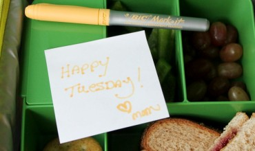 Give some love with lunchbox notes!