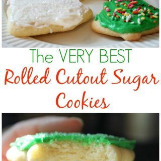 Rolled Cutout Sugar Cookies