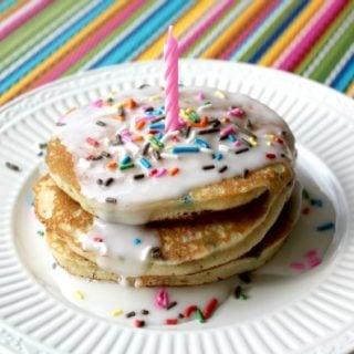 Birthday Cake Pancakes