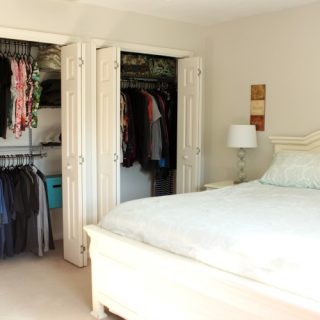 Project: Conquer Closet Clutter – Master Bedroom Closet Organization