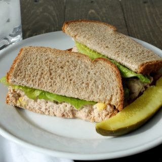 Healthy, Good For You – Tuna Salad Sandwich