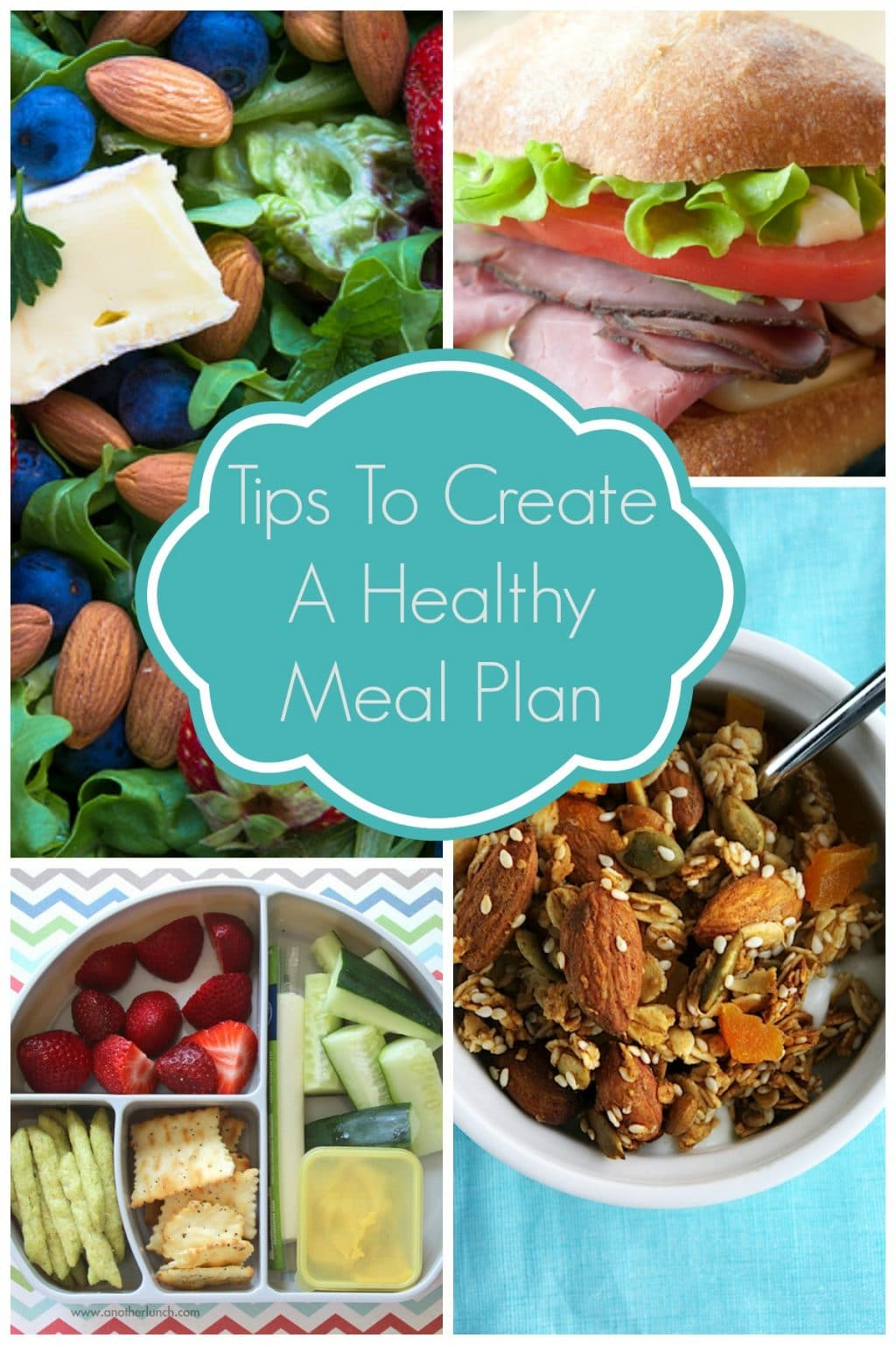 Tips to create a healthy meal plan for your family - easily!