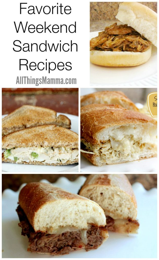 Check out my favorite weekend sandwich recipes you're gonna love!