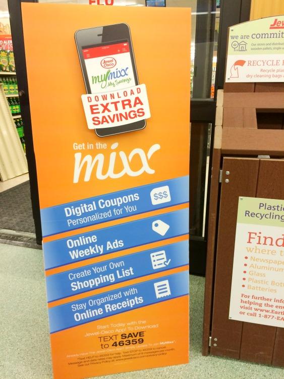 Jewel Osco My Mixx program helps you save money!