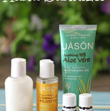 DIY All Natural Hand Sanitizer using only 3 ingredients!