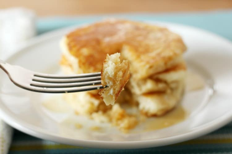Homemade Pancakes you'll flip over!