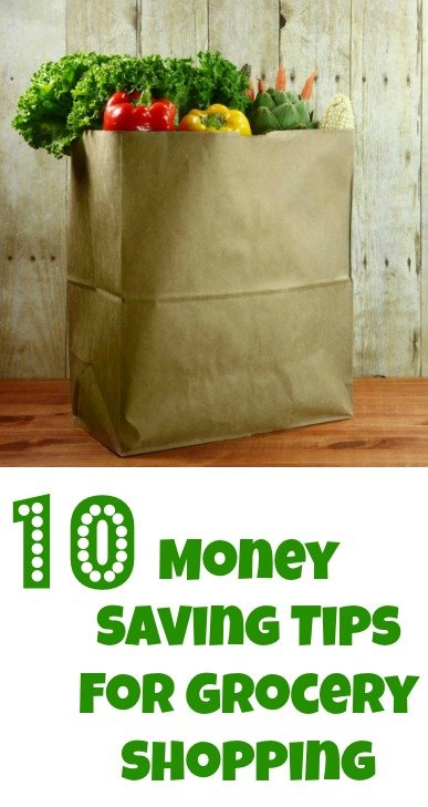10 Money Saving Tips For Grocery Shopping