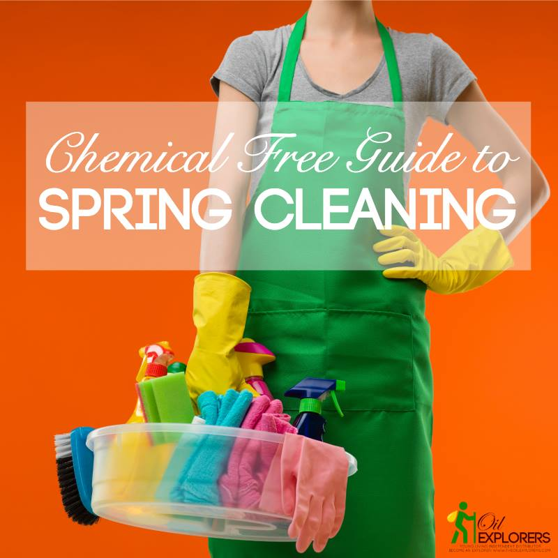 Chemical FREE Spring Cleaning Guide