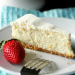 The easiest New York Style Cheesecake ever!