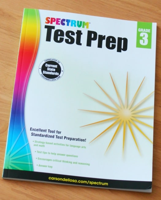 Carson-Dellosa Spectrum Test Practice and Test Prep