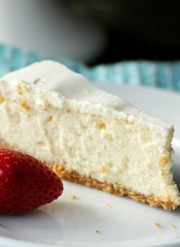 The easiest and most delicious cheesecake ever!