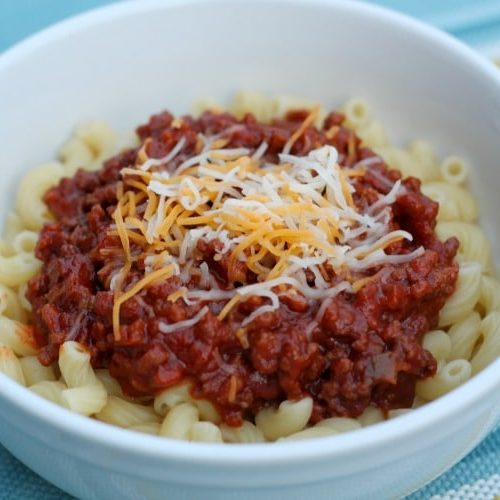Kid Friendly Meal - Chili Mac