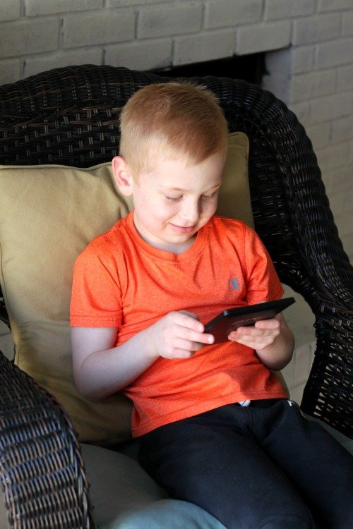 The Kindle e-reader is the perfect gift for kids starting to read chapter books, and is designed to make great books as accessible and engaging as possible, with zero distractions.