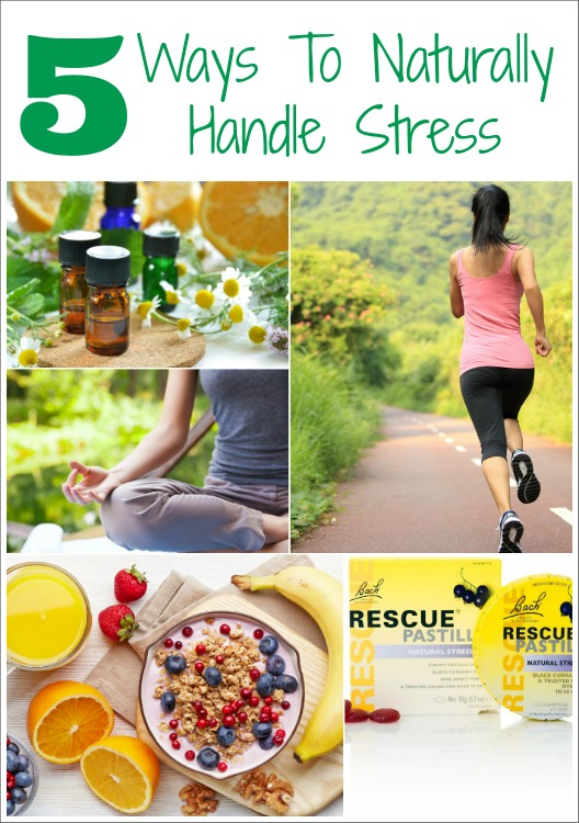 5 Ways To Naturally Handle Stress