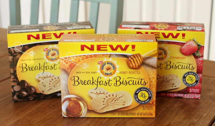 Honey Bunches of Oats Biscuits - the perfect anytime snack!